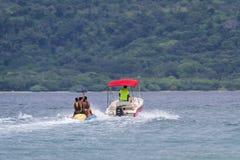 Banana boat ride Royalty Free Stock Images