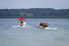 Banana boat ride Royalty Free Stock Image