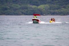 Banana boat ride Royalty Free Stock Photo