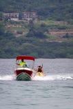 Banana boat ride Stock Photo