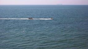 Banana boat ride, sea. stock video footage