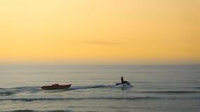 Banana boat. Banana boat in the sea HuaHin of Thailand Stock Photography