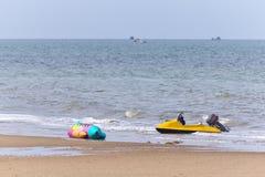 Banana boat. Stock Images