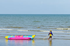 Banana boat. Royalty Free Stock Photography