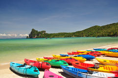 Phi Phi Island, Phuket, thailand Stock Photos