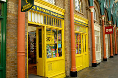 The Banana Bookshop @ Covent Garden Royalty Free Stock Photos