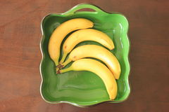 Banana Bowl Stock Image