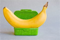 Banana box Stock Images
