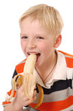 Banana boy Stock Image
