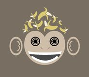 Banana Brains Royalty Free Stock Image