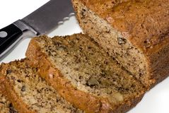 Banana Bread 1 Royalty Free Stock Photography