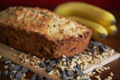 Banana bread Royalty Free Stock Photos
