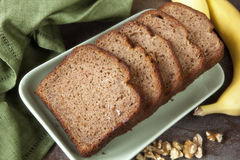 Banana Bread Stock Photography