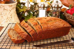 Banana Bread Royalty Free Stock Photography