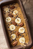 Banana bread batter Royalty Free Stock Photography