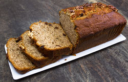 Banana bread Stock Image