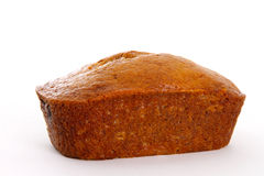 Banana Bread Loaf Stock Images