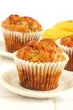 Banana bread muffins Stock Photo