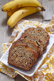 Banana bread with pecan Stock Images