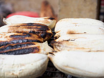 Banana broil Royalty Free Stock Photography
