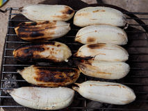 Banana broil Stock Photos