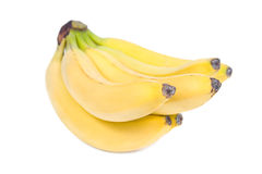 Banana bunch. Royalty Free Stock Images