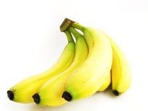 Banana bunch. Isolated on white background Stock Photo