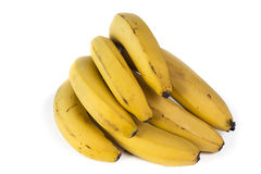 Banana Bunch Isolated Stock Photo