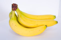 Banana Bunch From the Side Royalty Free Stock Photos