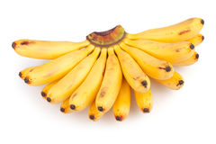 Banana bunch Royalty Free Stock Photos