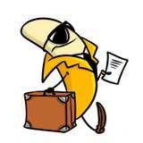 Banana business character cartoon Royalty Free Stock Photo