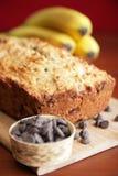 Banana cake stock photography
