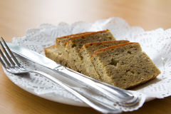 Banana cake Royalty Free Stock Photo