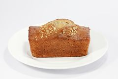 Banana Cake Royalty Free Stock Images