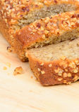 Banana cake bread Stock Photo
