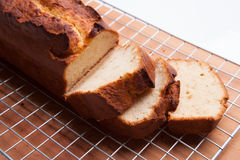Banana Cake Bread Loaf Stock Photography