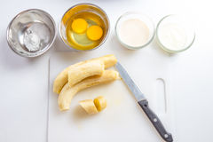 Banana cake Royalty Free Stock Images