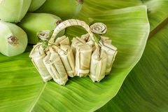 Banana candy, Thai style sweet candy. It's verysweet and stick Royalty Free Stock Photography