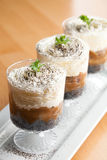 Banana Caramel Parfaits Stock Images