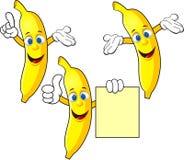 Banana cartoon. Illustration of banana cartoon character Royalty Free Stock Photos