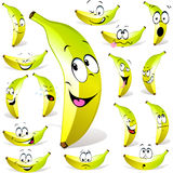 Banana cartoon Royalty Free Stock Photos