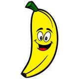 Banana Cartoon Mascot Royalty Free Stock Image