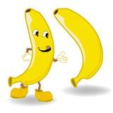 Banana cartoon vector Royalty Free Stock Photos