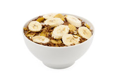 Banana cereal Royalty Free Stock Images