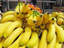 Banana che vende al posto della piazza Immagine Stock Libera da Diritti