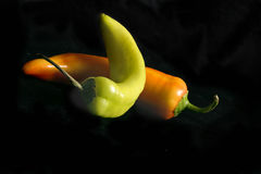 Banana Chilli Stock Photography