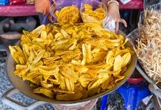 Banana chip Stock Image