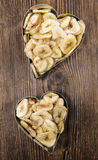 Banana Chip Hearts Royalty Free Stock Photos
