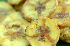 Banana chips. Royalty Free Stock Photos
