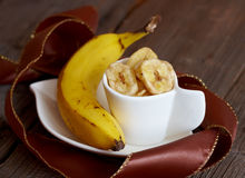 Banana chips Royalty Free Stock Photos